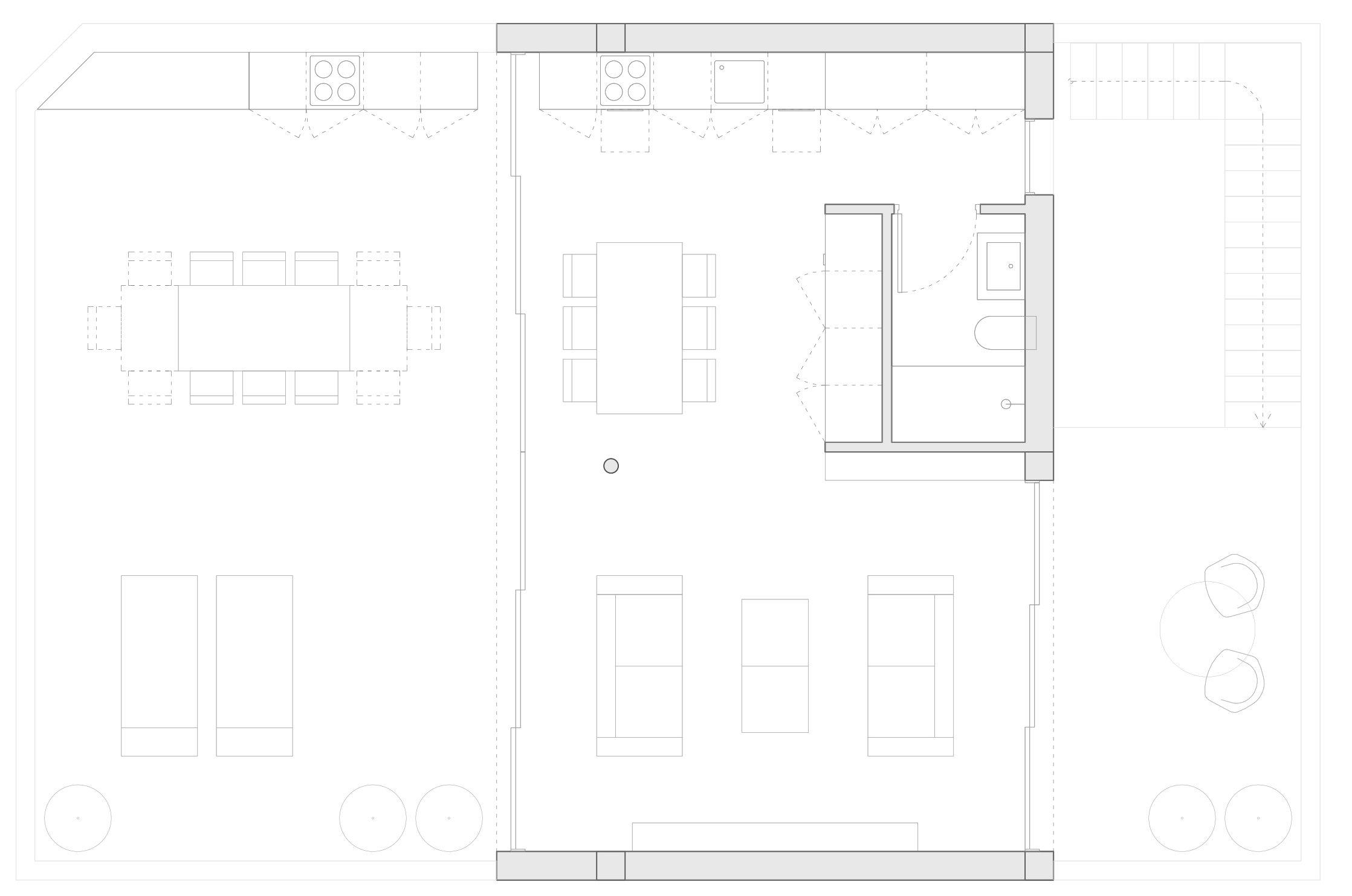NAYA arquitectos alicante atico en la sierra de molina fachada planta