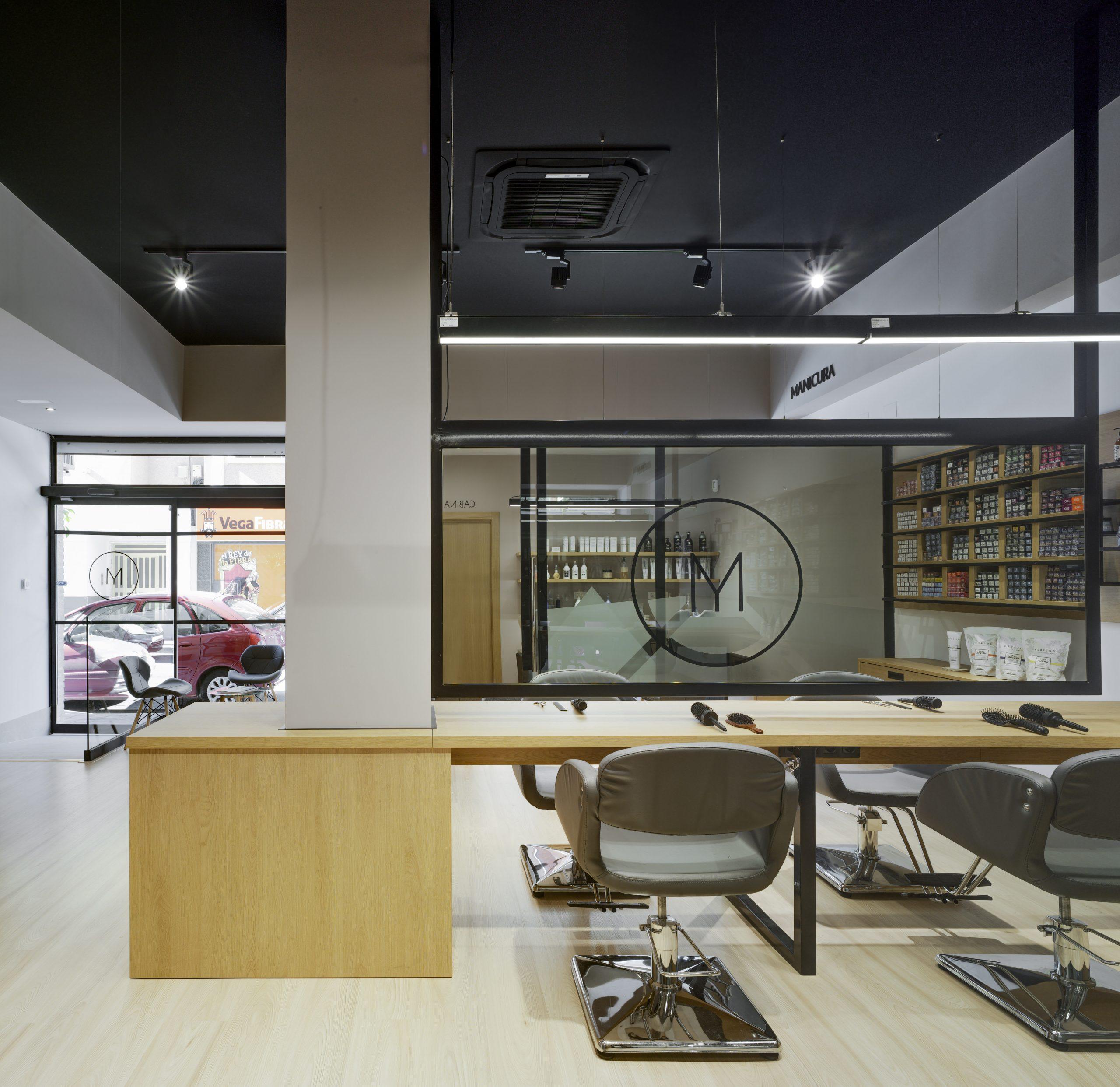 NAYA arquitectos alicante alma by madrigal peluqueria