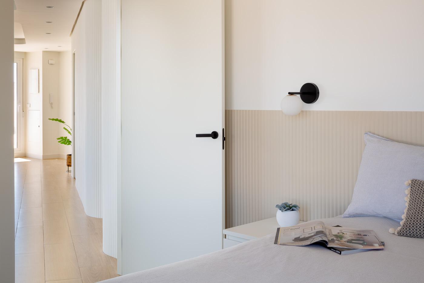 NAYA arquitectos alicante atico en guardamar dormitorio