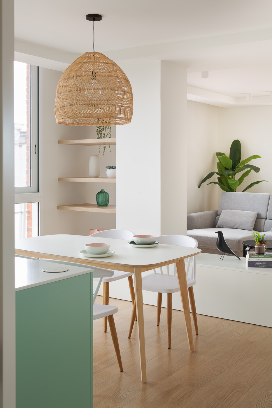 NAYA arquitectos alicante atico en guardamar comedor