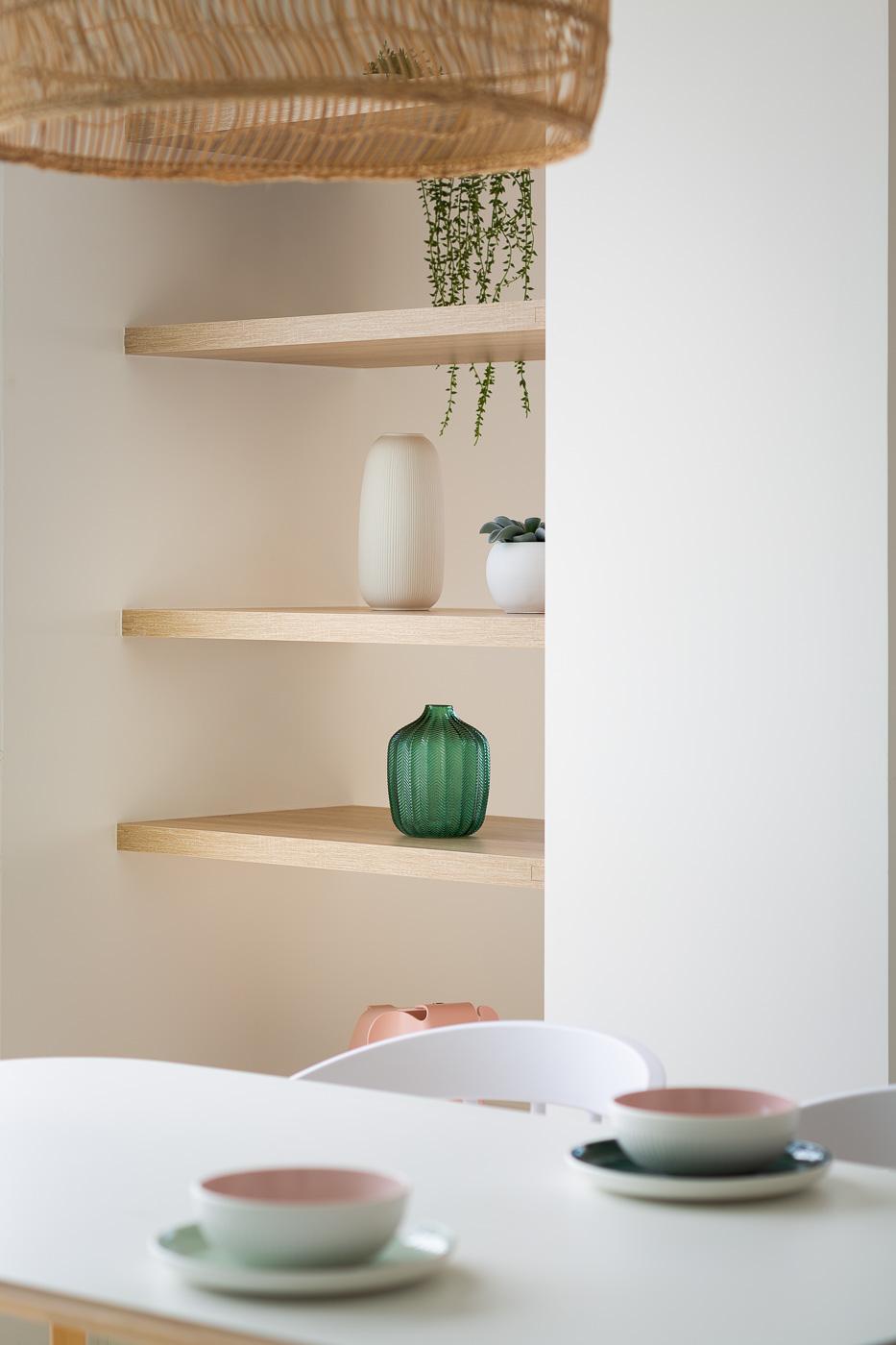 NAYA arquitectos alicante atico en guardamar estanteria